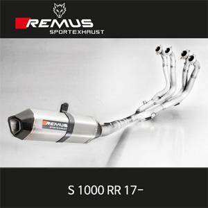 레무스 BMW S1000RR 17- 핵사곤 하이퍼포먼스 티탄 60mm 풀시스템 아크라포빅