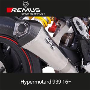 레무스 두카티 (16-)하이퍼모타드939 스테인레스 슬립온 65mm Race 하이퍼콘 no EEC 아크라포빅