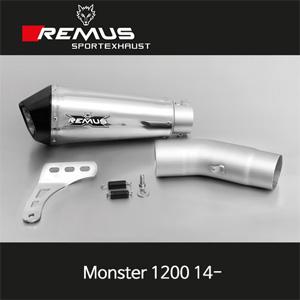 레무스 두카티(14-)몬스터1200 스테인레스 EEC 65mm 슬립온 하이퍼콘 아크라포빅