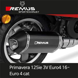 레무스 2016- 프리마베라125ie 3V 유로4 베스파 카본가드 65mm EC 풀시스템 스포츠 Euro 4cat. 아크라포빅