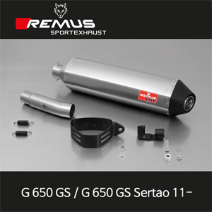 레무스 BMW G650GS/G650GS Sertao 11- ROXX 티탄 EEC 슬립온 아크라포빅