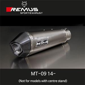 레무스 야마하 MT-09(14-) 레이싱용 하이퍼콘 티탄 RACE 중통 (no EEC) 65mm (메인스탠드 제거용) 풀시스템 아크라포빅