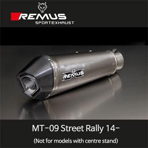 레무스 MT-09스트리트랠리(14-) 야마하 풀시스템 중통 하이퍼콘 레이싱용 티탄 RACE (no EEC) 65mm 메인스탠드 제거용 아크라포빅