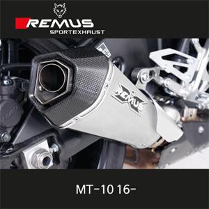 레무스 MT-10 야마하 16-년식 스테인레스가드(EEC) 하이퍼콘 슬립온 65mm 아크라포빅