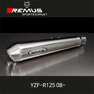 레무스 야마하 YZF-R125(08-) 파워콘 풀시스템 no cat. 스테인레스 no EEC 45mm 아크라포빅