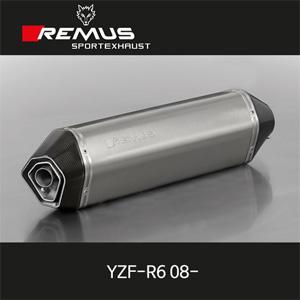 레무스 야마하 YZF-R6 08-년식 풀시스템 핵사곤 하이퍼포먼스 race 스테인레스 중통 (4-2-1)& 풀티탄 race 티탄 no EEC 45mm 아크라포빅