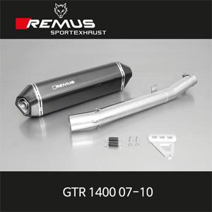 레무스 가와사키 GTR1400 07-10 핵사곤 슬립온 카본 EEC 60mm 아크라포빅