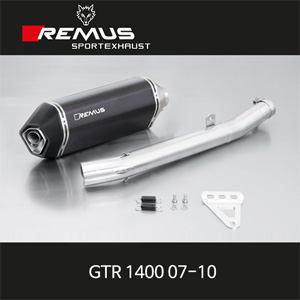 레무스 가와사키 (07-10)GTR1400 오카미 카본 EEC 60mm 슬립온 아크라포빅