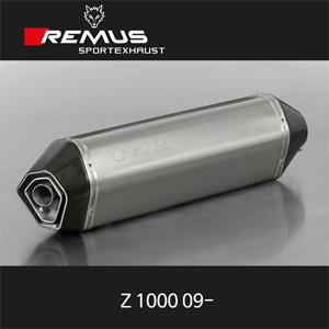 레무스 가와사키 Z1000 09- 핵사곤 좌/우 티탄 (no cat/no EEC) 54mm 슬립온 아크라포빅