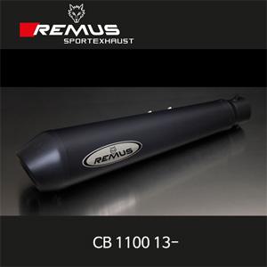 레무스 혼다 CB1100 13- 파워콘 스틸블랙 EEC 슬립온 아크라포빅