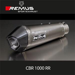 레무스 혼다 CBR1000RR 티탄 하이퍼콘 EEC 슬립온 아크라포빅