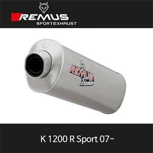 레무스 K1200R Sport 07-년식 BMW 하이퍼포먼스 레이싱용 no EEC 슬립온 아크라포빅