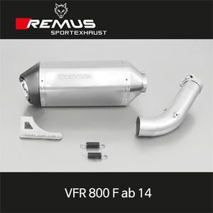 레무스 혼다 VFR800F(14) 오카미 슬립온 EG/ABE 54mm 아크라포빅