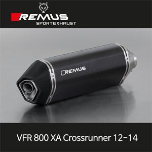 레무스 혼다 VFR800XA크로스러너(12-14) 오카미 카본 EEC 54mm 슬립온 아크라포빅
