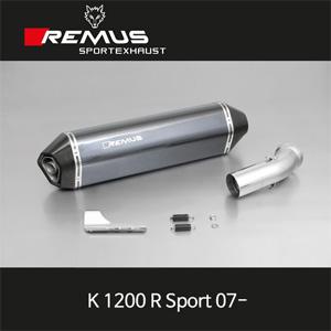 레무스 K1200R Sport 07- BMW 핵사곤 카본 EEC 60mm 슬립온 아크라포빅