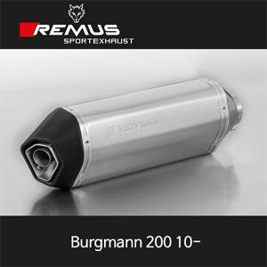 레무스 스즈키 버그만200 10- 오카미 티탄 EEC 54mm 슬립온 아크라포빅