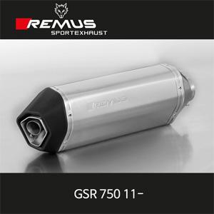 레무스 스즈키 GSR750 11- 스테인레스 오카미 슬립온 54mm 아크라포빅 EEC