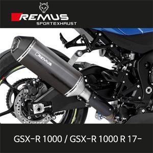 레무스 GSX-R1000 스즈키 17-년식 슬립온 오카미 카본 EC 아크라포빅