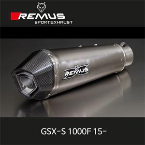 레무스 GSX-S1000F 스즈키(15-) 티탄가드 하이퍼콘 EEC 슬립온 아크라포빅