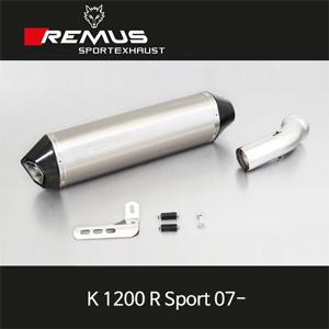 레무스 (07-)K1200R Sport BMW no cat. no EEC 티탄 60mm 핵사곤 슬립온 아크라포빅