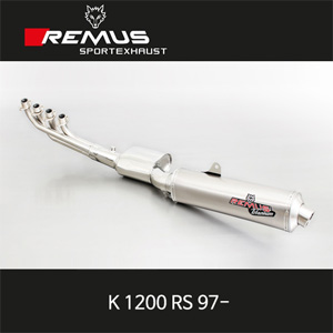 레무스 BMW K1200RS 97- REVOLUTION no cat. 좌측용 티탄 EEC 76mm 풀시스템 아크라포빅