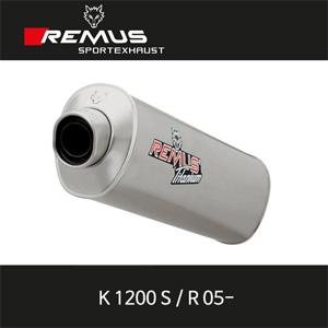 레무스 K1200S/R 05- BMW 하이퍼포먼스 레이싱용 no EEC 슬립온 아크라포빅