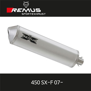 레무스 KTM 450SX-F 07- FREERIDE 94dB(A)/100dB(A) 티탄 no EEC 풀시스템 아크라포빅