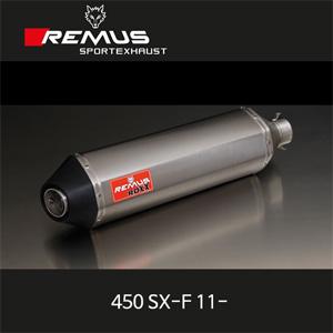 레무스 KTM 450SX-F(11-) ROXX 풀시스템 좌/우 티탄 no EEC 아크라포빅