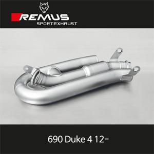 레무스 KTM 690듀크4 12- 중통 아크라포빅