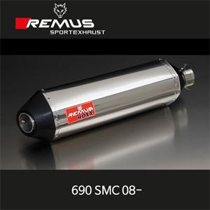 레무스 KTM 690SMC 08- ROXX 슬립온 no cat. 좌측용 (no EEC) 54mm 스테인레스 RACE 아크라포빅