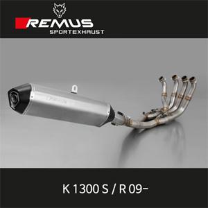 레무스 BMW K1300S/R(09-) 핵사곤 하이퍼포먼스 스테인레스 중통 (4-2-1) 티탄 Race 102/107 dB(A) (no EEC) 풀시스템 아크라포빅