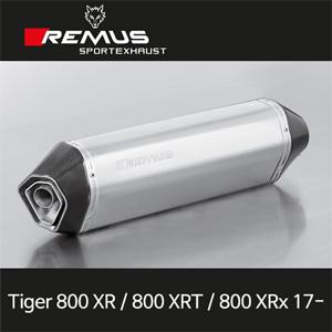 레무스 타이거800XR/800XRT/800XRx 17- 트라이엄프 스테인레스 핵사곤 슬립온 54mm EC 아크라포빅