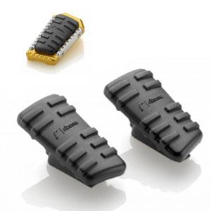 """리조마 HARLEY-DAVIDSON Softail Slim (2014 - 2016) """"Touring"""" Pegs rubber kit"""