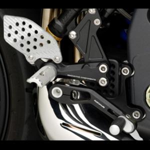 """리조마 TRIUMPH Speed Triple 1050 (2005 - 2011) Rear sets control Kit """"REV"""""""