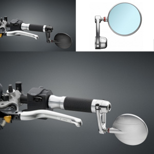 리조마 DUCATI Hypermotard (2013 - 2015) SPY-ARM (biposition) - 지름 80mm