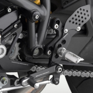"리조마 DUCATI Streetfighter (2009 - 2012) Rear sets control Kit ""REV"""