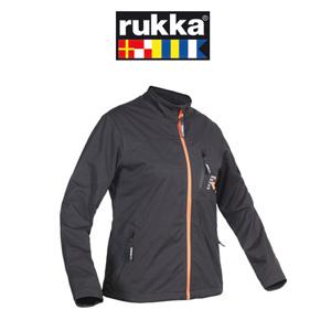 [루카 오토바이 언더웨어 용품]Rukka Beta Softshell Women Jacket (Black/Orange) - 여성용
