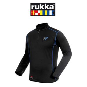 [루카 오토바이 언더웨어 용품]Rukka Kim Outlast Fleece Zip-Neck