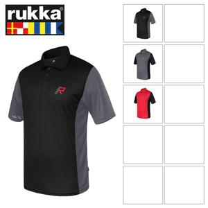 [루카 오토바이 언더웨어 용품]Rukka Pol Polo Shirt (Red/Black)