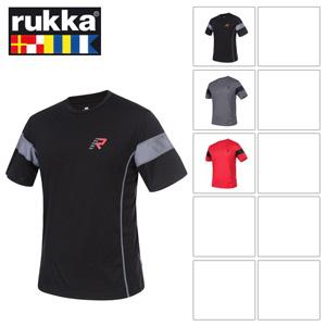 [루카 오토바이 언더웨어 용품]Rukka Cal T-Shirt (Red/Black)