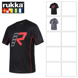 [루카 오토바이 언더웨어 용품]Rukka Broc T-Shirt (Grey/Black)