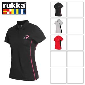 [루카 오토바이 여성티셔츠 용품]Rukka Luisa Lady T-Shirt (Red) - 여성용