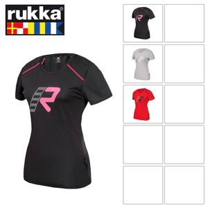 [루카 오토바이 여성티셔츠 용품]Rukka Alexa Lady T-Shirt (Red) - 여성용