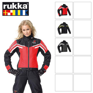 [루카 오토바이 자켓 용품]Rukka Air-Y Gore-Tex Lady Jacket (Black/Titan) - 여성용