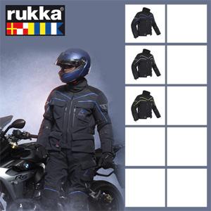 <b>[루카 오토바이 자켓 용품]</b>Rukka Energater Gore-Tex (Black/Blue)