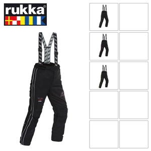 [루카 오토바이 바지 용품]Rukka Orbita Lady Pants GORE-TEX® (Black/Yellow) - 여성용