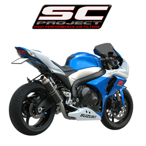 SC프로젝트 GSX-R1000 '09-11 GP-line single silencer Carbon fiber