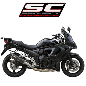 SC프로젝트 GSF1250 BANDIT Oval silencer Carbon fiber with carbon cap