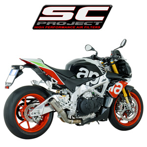 SC프로젝트 APRILIA TUONO V4 1100 RR/FACTORY '17 CR-T Silencer-Low position Full titanium