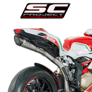 SC프로젝트 MV AGUSTA F4 '10-17 S1 Silencer Titanium with carbon cap